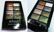 New 8 colors Travel Eyeshadow Face Shimmer Palette Cosmetic Makeup Brush set#02