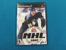 NHL 2002 PlayStation 2 Video Game Released 2001 Electronic Arts 014633143317