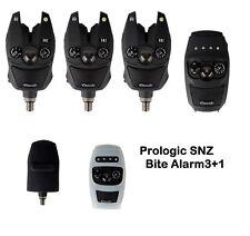 Prologic SNZ Bite Alarm Funkbissanzeiger 3+1 mit Koffer Case Schutzhülle Funkset
