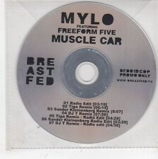 (GS52) Mylo ft Freeform Five, Muscle Car - DJ CD