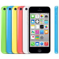 Brand New Apple iPhone 5C 16GB Unlocked Factory Smartphone Blue White Pink Green