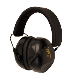 Browning Buckmark II Soft Foam Ear Cups Hearing Protection Black 12682