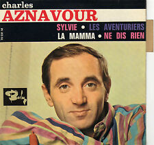 CHARLES AZNAVOUR SYLVIE FRENCH ORIG EP PAUL MAURIAT