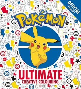 The Official Ultimate Creative Colouring by Pok??mon New Paperback Book