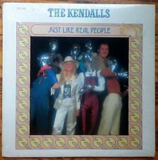 "THE KENDALLS ""Just Like Real People"" USED 1979 Ovation LP NM/NM"