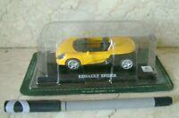 Del Prado 1/43 Renault Spider Car Collection Diecast