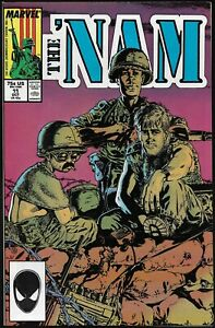 THE 'NAM #11-20 (10 issues, Marvel war comic, 1987-88) - VF/NM