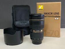 Nikon AF-S NIKKOR 24-70MM F/2.8G ED Lens Used good condition