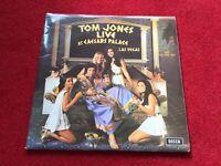 "TOM JONES-LIVE AT CAESARS PALACE Double 12"" Vinyl LP Album 1971 COMPLETE"