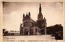 CPA   Ste-Anne- d'Auray - La Basilique -Nicolazic découvrit la statue ..(431375)