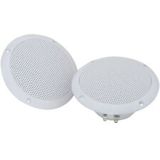 "Pair-Waterproof Ceiling Speakers- 80W 4ohm 5"" -Kitchen Bathroom Water Resistant"
