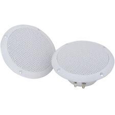 """Pair-Waterproof Ceiling Speakers- 80W 4ohm 5"""" -Kitchen Bathroom Water Resistant"""