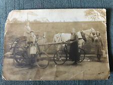 Bridgwater Social History Horse & Trap Dairy Delivery Ladies & Bicycles Pre 1910