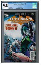 Batman: Gotham Knights #73 (2006) Castellini Joker Cover CGC 9.8 EB467