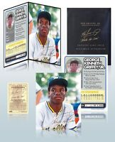 KEN GRIFFEY, JR. 24K GOLD SIGNATURE 8x10 PHOTO with FOLIO DISPLAY - LOW PRICE $$