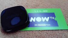 Used Replacement Now TV box Only..+ 2 months sky cinema movies pass... ,,