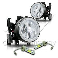 For 03-06 Honda Element Fog Lights w/Wiring Kit High Power COB LED Bulbs - Clear