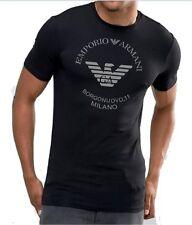 9def202c Emporio Armani White Mens USA Size Large L V Neck Stretch T-shirt 118
