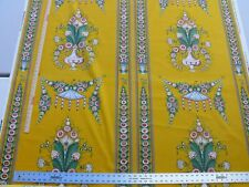 BY YARD SCALAMANDRE BOUQUET CHINOIS GW MARIGOLD YELLOW CHINOISERIE MSRP$200++