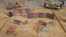Rusted Metal Fences, Warhammer terrain scenery Digital Download wargame 40k 28mm