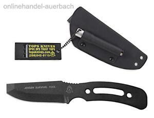 TOPS KNIVES Jensen Survival Tool  Messer  Outdoor  Survival