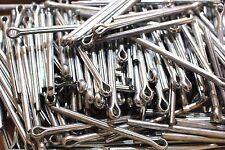 10 Stück Splinte 6,3 mm Länge 80 - 100 DIN 94 verzinkt Sicherungsstift Sicherung