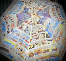 Vintage Atlanta Journal Constitution Comics Umbrella