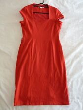 Jane Lamerton 14 Red Fitted Corporate Dress