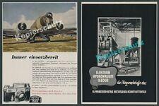 ZEISS IKON Kamera Contax Foto Agfacolor Junkers Ju 86 Flugplatz Luftfahrt 1941