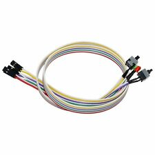 4in1 PC Power Reset Switch HDD Motherboar LED Cable Light Wire Kit for Computer