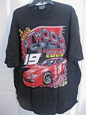 CASEY ATWOOD #19 DODGE TWO-SIDED BLACK T-SHIRT UNLEASHED IN 2001 SIZE XL NIP