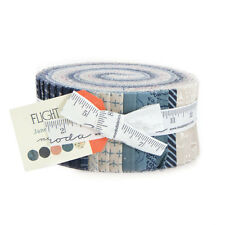 "JELLY ROLL~40-2.5"" STRIPS~Flight by Janet Clare and Moda Fabric~air planes, jets"