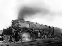 Union Pacific Photo BIG Boy Steam Locomotive 4020 Railroad print UP train