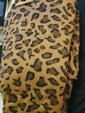 Bettwäsche 135x200  Fleece Winter Kuschelig Bettbezug Mikrofaser Leopard