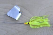 Lunker Lure PW30438 Buzzbait 3/8oz Chartreuse Silver Mf Fishing Lure