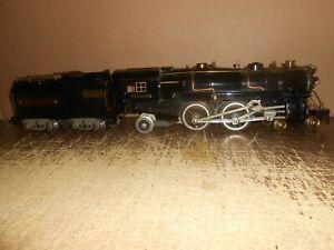 American Flyer Prewar 4-4-2 Steam Locomotive & Tender Wide Gauge Restored