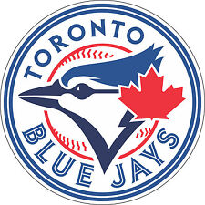 "Toronto Blue Jays MLB Baseball Bumper sticker, wall decor, vinyl decal, 5""x 5"""