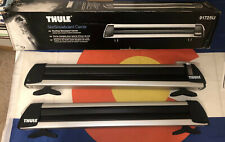 Thule Sweden Universal Roof Ski Rack Ski Snowboard Rack New In Box With Lock and