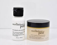 Philosophy Microdelivery Peel Gel Acid Gel & Vitamin C Crystals Set 1oz each