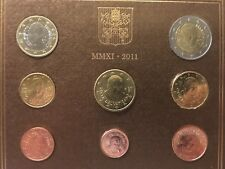 Vaticaan 2011 BU set 1Ct - 2€ in Folder