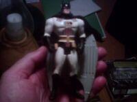 LOT OF 5 BATMAN CHARACTER { BATMAN, ROBIN, 2 PENGUIN COMMANDOS & JOKER . } NICE!