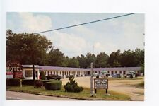 Pleasantville NJ Coke Machine Motel Old Cars Postcard