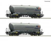 Roco 76084 HO Gauge Vigier Uacns Silo Wagon Set (2) VI