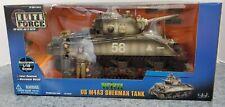 Elite Force WWII US M4A3 Sherman Tank 1:18- NIB
