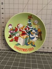 Vtg Disney Christmas Plate 1984 Donald Duck's 50th Birthday 4,421 Of 20,000