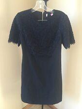 Ted Baker London Black Scallop Hem Lace Dress Size 1 (US 4) $269