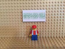 LEGO® Figur Minifig Soccer Player Red & Blue #9 #SOC047 Set 3408
