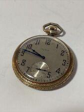 Running Vintage Elgin Pocket Watch Star Case Company