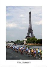 CYCLING TOUR DE FRANCE PHOTOGRAPH POSTER UNFRAMED - GRAHAM WATSON POSTER