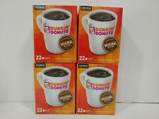 88 Count Keurig K-Cups Dunkin Donuts Original Blend Medium Roast Coffee